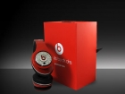 red diamond Monster Beats by Dre Studio Headphones