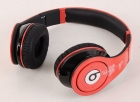 red Monster Beats by Dre Studio Headphones