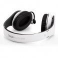 white Monster Beats by Dre Studio Headphones