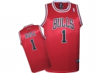 KIDS Jerseys bulls Rose 1# red