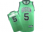 KIDS Jerseys Celtics Garnett #5  green-03
