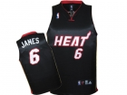 KIDS Jerseys Heat James 6# black