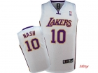 kids jerseys Lakers Nash 10# white